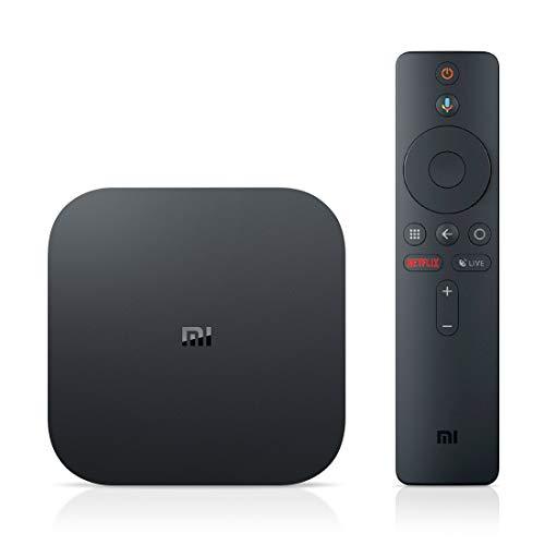 Xiaomi Android TV Box, Mi Box S 4K Ultra HD / DTS / H.265 / Dual WiFi / BT 4.2 / 3D / Sonido Dolby / HDMI, Asistente de Google con Chromecast, Android Set-Top Box