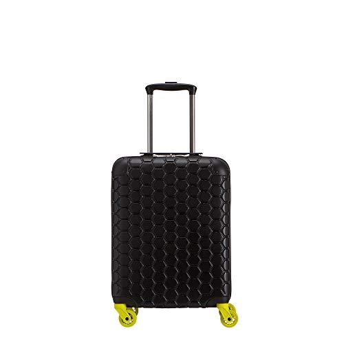 CARPISA® Gotech® – Valigia Trolley Rigido con Rotelle Girevoli – Unisex – Small – Dimensioni 36 x 53 x 23 cm – Nero