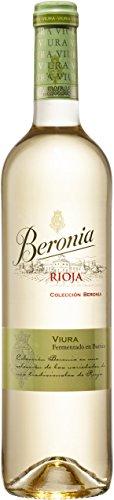 Beronia Viura Fermentado en Barrica - Vino Blanco D.O.Ca. Rioja - 750...