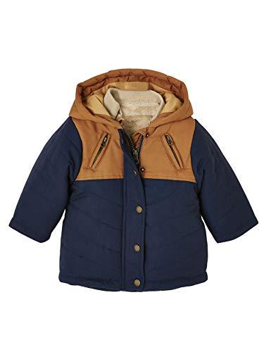 Vertbaudet 3-in-1 Winterjacke für Baby Jungen Nachtblau 62