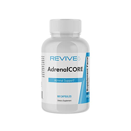 Revive MD | AdrenalCORE | Strengthen The Body's Stress Response | Supports Healthy Energy Levels | 60 Capsules