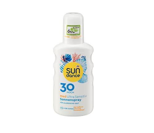 Sundance Med Ultra Sensitive SONNENSPRAY LSF30 (200ml Flasche)