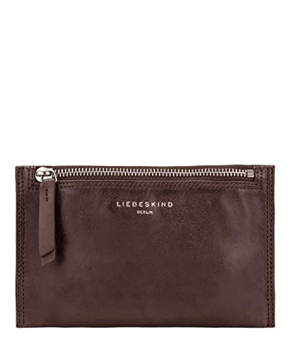 Liebeskind Berlin Damen Ever - Cosmetic Bag Small Taschenorganizer, Braun (Dark Brown), 1x12x19 cm