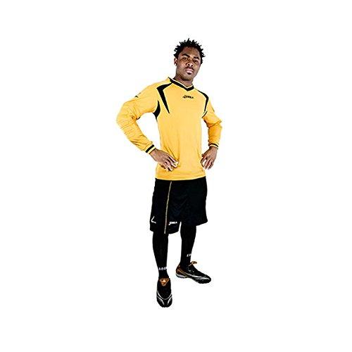 LEGEA Arsenal Kit Gardien di But Football Uomo, Oro/Nero, Taglia Produttore: XL