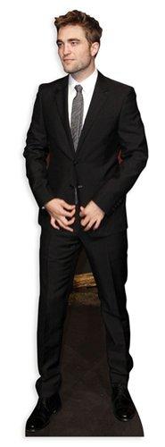 US-Way e.K. Pappaufsteller Robert Pattinson Aufsteller Standup Figur Kinoaufsteller Pappfigur Cardboard Lebensgroß Life-Size Standup