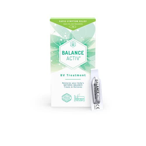 Balance Activ Pessaries | Bacterial Vaginosis Treatment for Women | Works Naturally to Rapidly Relieve Symptoms of Unpleasant Odour, Discomfort & Discharge Odour Associated with BV
