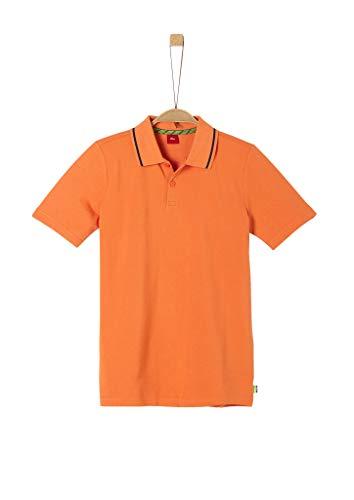 s.Oliver Junior Jungen 402.10.005.13.130.2038361 Polohemd, Orange, L