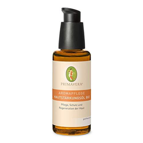 PRIMAVERA Aromapflege Hautstärkungsöl bio 50 ml - Aromaöl, Massageöl, Aromatherapie, ätherische Öle - Pflege, Schutz und Regeneration der Haut, Narbenpflege - vegan