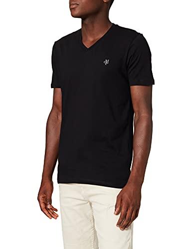 Marc O'Polo Herren B21222051018 T-Shirt, Schwarz (Black 990), 54 (Herstellergröße: XL)