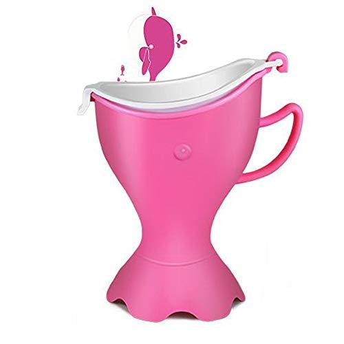 Vasini ZXMEI Orinatoio Portatile da Donna Femminile da Viaggio for Orinatoio da Viaggio Dispositivo for Urina , Misura 99% Bottiglia d'Acqua (Color : Pink)