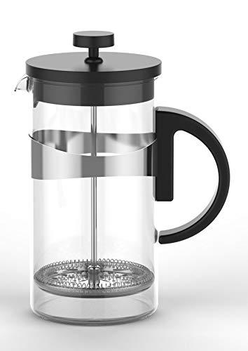 Boral Kaffee- und Teebereiter aus Borosilikatglas, 1 Liter