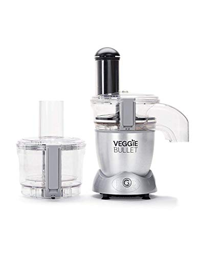 Veggie Bullet Electric Spiralizer & Food Processor, Silver