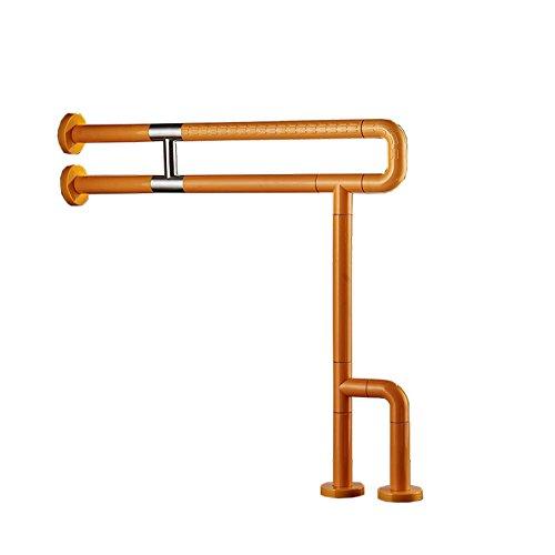 Pasamano de baño de Nylon/pasamanos de Seguridad para Personas Mayores/Baño para Personas con discapacidades Armazón de baño de Ducha/pasaplatos de Seguridad - amarillo-70cm