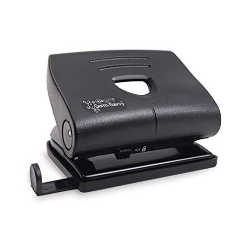 Rapesco PF8700B1 - Perforadora Doble Para Oficinas y Hogares