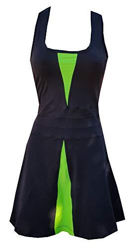 El Gusanillo - Vestido de pádel o Tenis en Suplex, Comodidad y Elegancia en la Pista - Modelo Jelber