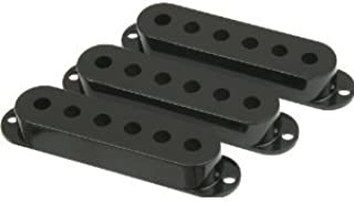 black pickup covers for strat