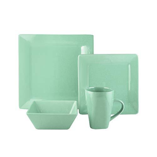 American Atelier Casual Dinnerware Set – 16-Piece Stoneware Party...