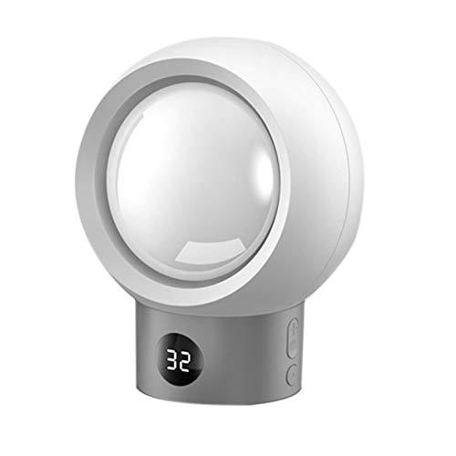 QAZEDC Mini Planet Calentador Eléctrico 220V 500W Escritorio Portátil Calentador De Ventilador Pequeño Calentador De Temperatura De 9 Velocidades para Invierno