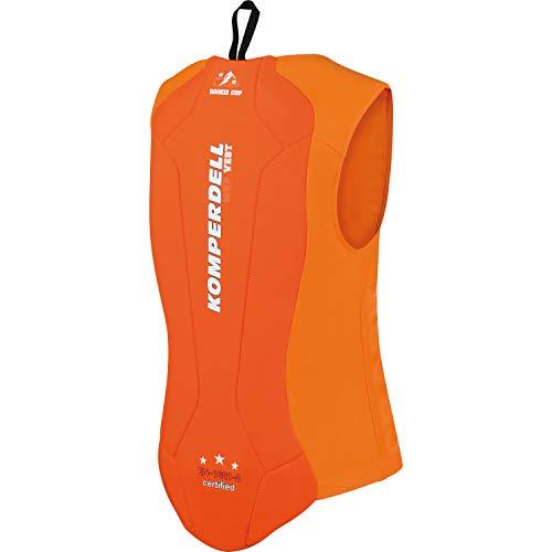 Komperdell Junior Eco - Giacca di Protezione, Unisex, Colore: Arancione, 6240-29.F18, Arancione, 140