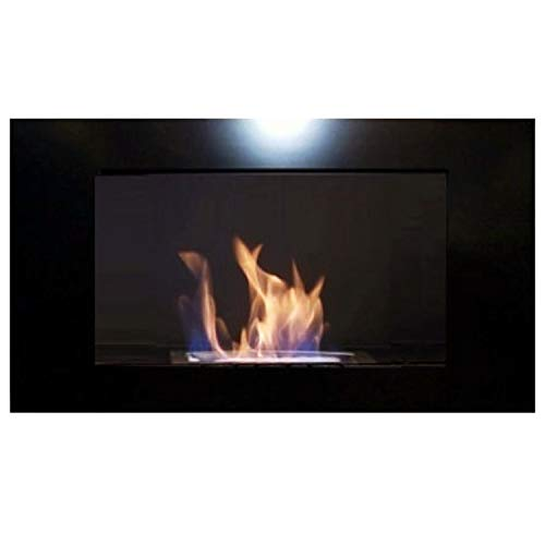 Great Deal! Gel + Ethanol Fire-Place - Diana Deluxe / Fireplace / Stove (Black)