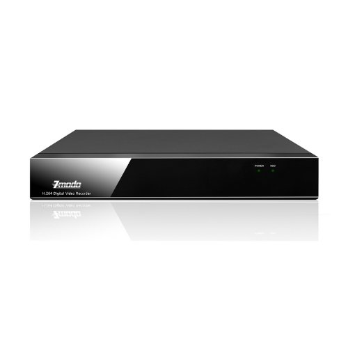 ZMODO H.264 Real time 4 CH Standalone DVR - iPhone & Android Network - No Hard Drive -