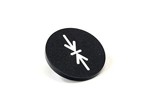 Einlegeschild passend für Moeller RMQ22 Drucktaster Rot NEU