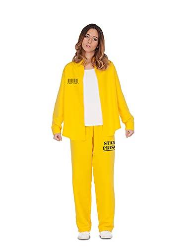 DISBACANAL Disfraz de Presa Amarilla Mujer - M-L