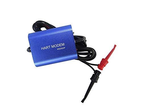 ZYY USB HART MODEM USB A HART Protocol Modem HART TRANSMITTER HART Convertidor de HART con 24VDC y controlador de temperatura de resistencia de bucle incorporado Adecuado para todos los dispos
