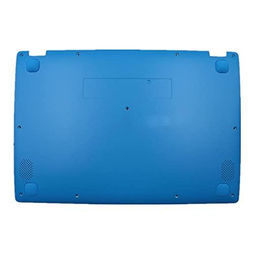 fqparts Cubierta Inferior de la Caja del Ordenador portátil D Shell para Lenovo ideapad 110S-11IBR Color Azul 5CB0M53705