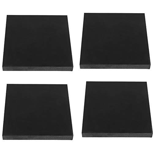 SOLUSTRE 4Pcs Lavadora Almohadillas para Los Pies Anti-Vibración Anti-Caminar Arandela Drye Almohadillas para Los Pies Estabilizador Absorbente Muebles Mat Elevador para Nevera Cama