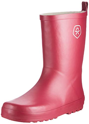 Color Kids Unisex-Kinder Wellies Rain Boot, Beet Red,32 EU