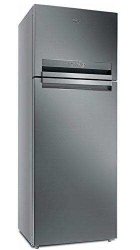Whirlpool T TNF 9322 OX réfrigérateur-congélateur Autonome Acier inoxydable 456 L A++ - Réfrigérateurs-congélateurs (456 L, SN-T, 5 kg/24h, A++, Nouvelle zone compartiment, Acier inoxydable)
