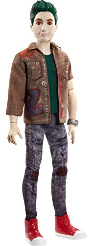 Disney's Zombies 2, Zed Necrodopolis 12 inch Doll Wearing Grunge Outfit and Accessories