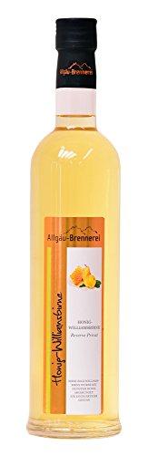 Allgäu-Brennerei Honig-Williamsbirne Spirituose 35% Vol. (1x0,5l) (Schnaps)