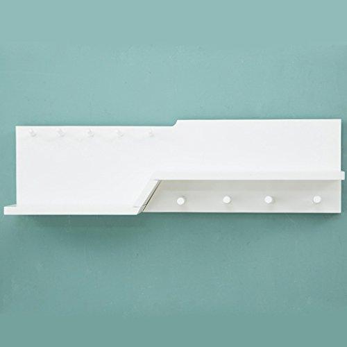 SKC Lighting-Porte-manteau Crochets muraux pour mur Cintres muraux (Couleur : Blanc, taille : 9 hooks)
