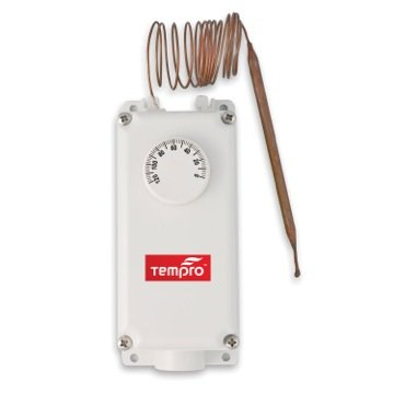 Tempro TP506 Line Voltage 0 to 120 Degree F 60 in. Bulb NEMA 4X Housing SPDT Thermostat