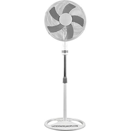 Suinga VENTILADOR DE PIE KOOL BREEZE de 16´´, 3 velocidades y 50 W. Diámetro ventilador: 40.6 cm