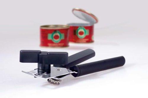 GSD 44 200 Ouvre-boites à Pinces, Plastique, Noir, 18,5 cm