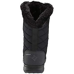 Columbia womens Ice Maiden Ii Snow Boot, Black, Columbia Grey, 8 US