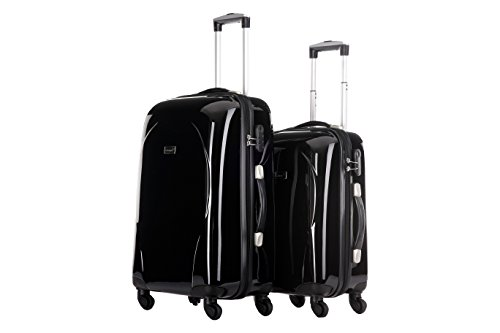 Packenger Koffer 2er-Set Panema, M/L, Schwarz