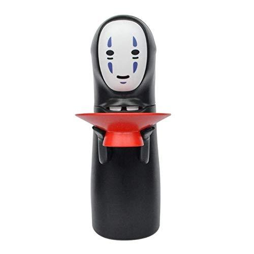 CLSMYLFB Hucha de 7,3 x 22 cm, sin cara, hucha de Kaonashi sin cara, juguete automático de regalo divertido hucha de dibujos animados