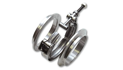 Vibrant 1491 3' Stainless Steel V-Band Flange Assembly