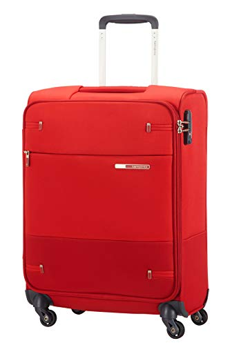 Samsonite Base Boost - Spinner S (Länge 40 cm) Handgepäck, 55 cm, 39 L, Rot (Red)
