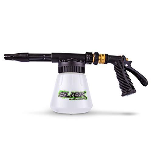 Slick Products Garden Hose Foam Gun - Concentrated Soap Foam Blaster for Car, Truck, Motorcycle, Dirt Bike, ATV, UTV, Toy Hauler, Trailer, Motorhome, RV, and Boat