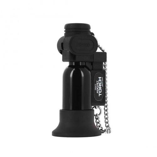 PRINCE Taschenlampe Feuerzeug schwarz