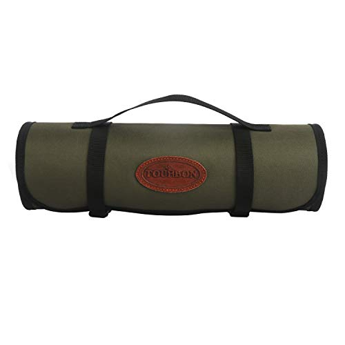 TOURBON Shooting Hunting Roll-up Gun Cleaning Mat Pad with Tool Storage Pocket