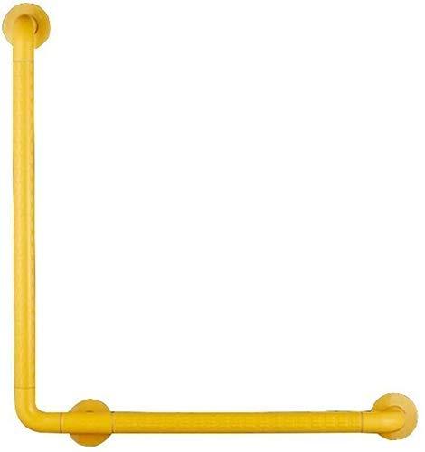 Busirsiz Seguridad maneja lesionado baño WC asidero manija for la manija de Seguridad for Acceder Mango apoyabrazos Baño, Circular, Tipo de luz L for los discapacitados Accesorios de baño
