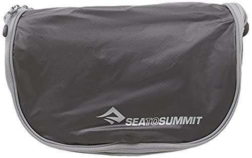 Sea to Summit Hanging Toiletry BagS Saco Montañismo, Alpinismo y Trekking, Adultos Unisex, Black/Grey, Talla Única