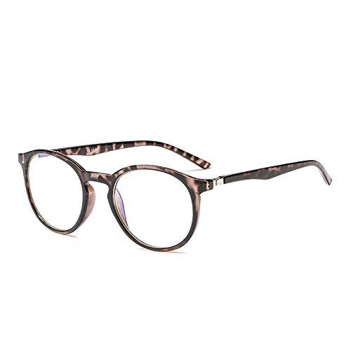 Suertree Blaulicht Brille Blaulichtfilter Lesebrille Federscharnier Computerbrille Anti Ermüdung Brille 2.0x JH254