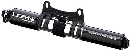 Lezyne Minipumpe CNC Alloy Drive, schwarz-glänzend, 1-MP-ALLDR-V2M04